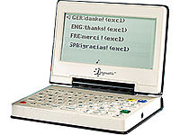Linguatis Digitaler 3in1-Reiseübersetzer mit Sprachausgabe VT-3503 (refurbished)